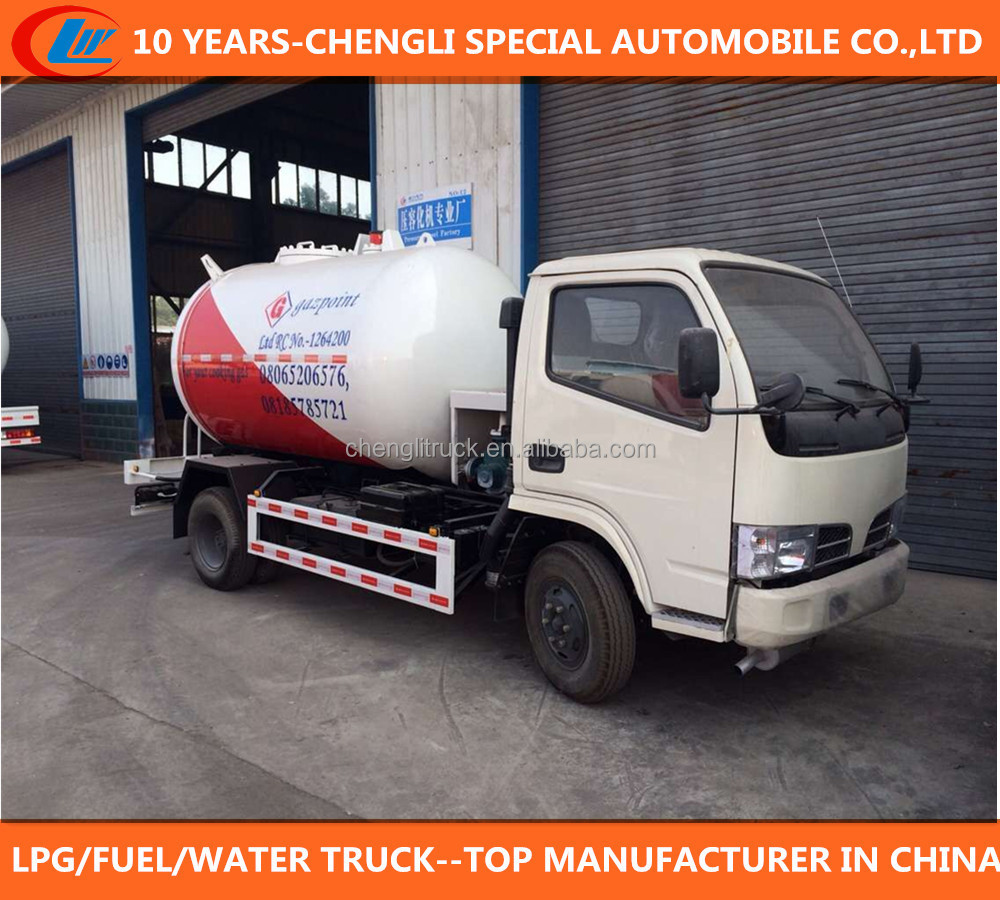 lpg gas filling tank truck small 5m3 5000 liters mobile lpg dispenser truck  for sale, View mobile lpg dispenser truck, clw Product Details from