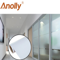 Anolly home office decoration solar control window film frosted glass sticker