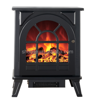 Free Standing Modern Electric Fireplace