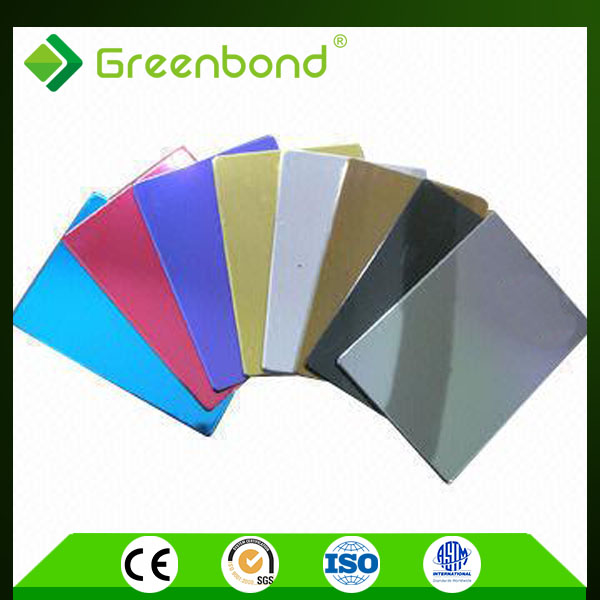 Greenbond high quality unbroken aluminum composite plate acp acm production line with latest design