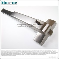 anti panic bar push bar for fire steel door/Germany quality/ Guaranteed for 5yrs