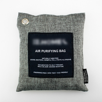 Bamboo Charcoal Air Purifier Bags Natural Air Freshener - Non-toxic, Effective Deodorizer Keeps Spaces Fresh and Dry