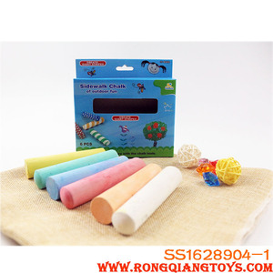 Cheap price colorful big chalk 6 pieces/set toy SS1628904-1