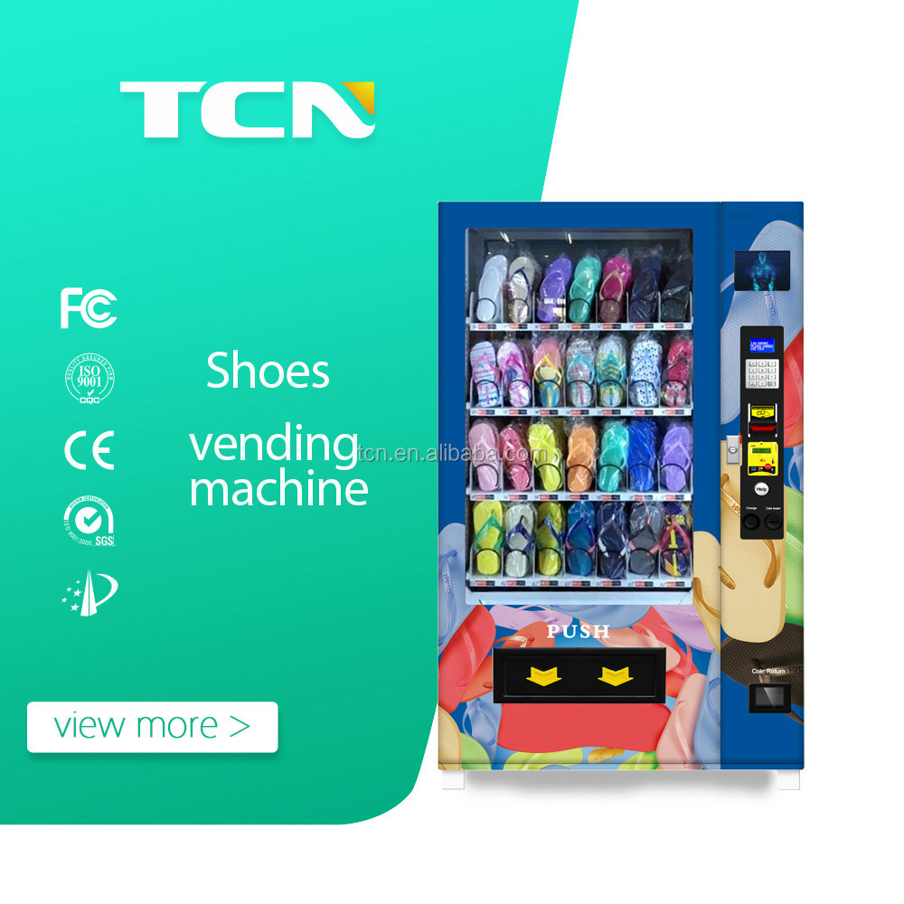 2017 TCN shoes /slipper vending machines