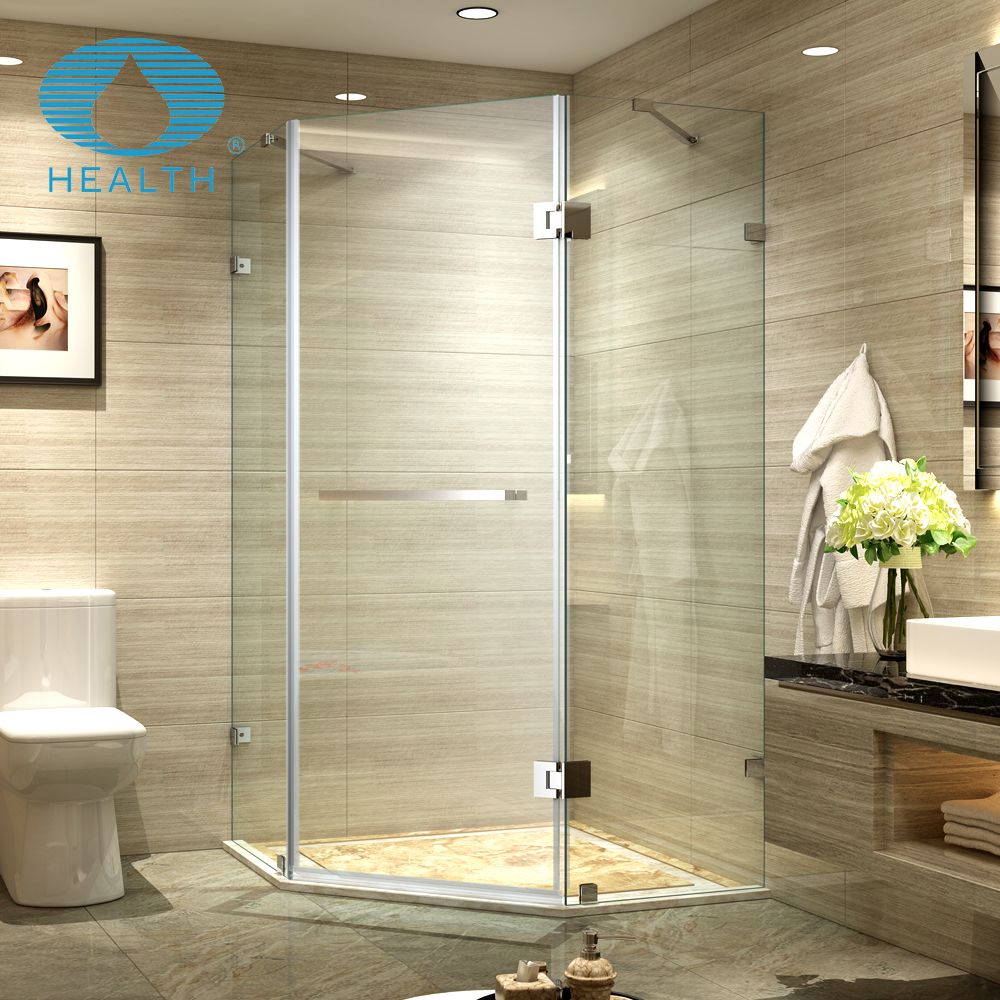 Flexible shower enclosure with JL139