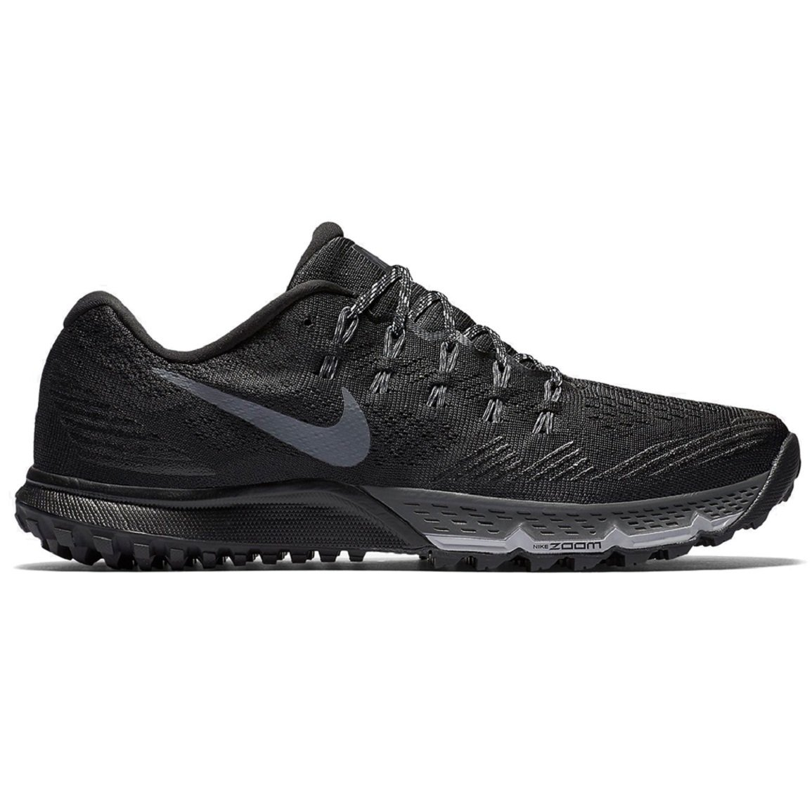 0229d00efbc3a Get Quotations · Nike AIR ZOOM TERRA KIGER 3 Mens Black Dark Grey-Cool  Grey-Wolf