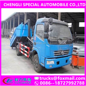 Best price 7 ton china garbage truck, new refuse compactor trucks, garbage trash compactor for sale