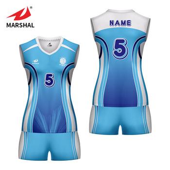 ec4ef9cffc5 Cheap women s volleyball uniforms suit sleeveless custom volleyball jersey  design