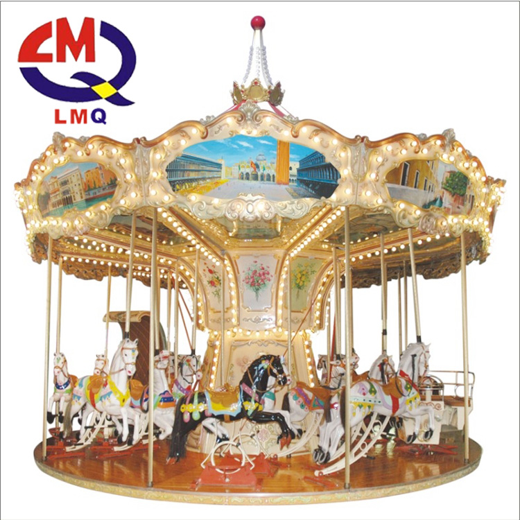 Horses riding carousel led lights merry go around carrousel large outdoor christmas decorations