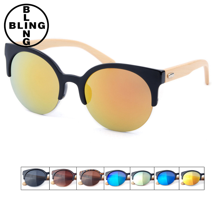 >>>2017 High Quality Hot Women Fashion Wooden Frame Sunglasses Retro Glasses Men Bamboo Wood Sunglases