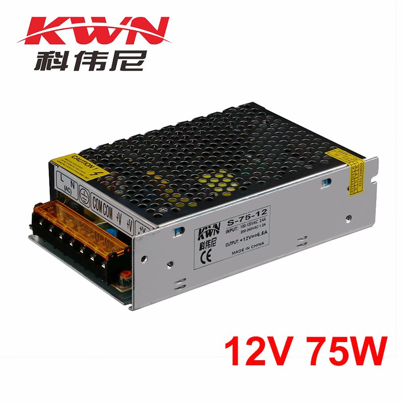 UPS Function 75w 6a Switching Power Supply 12v for CCTV Security Camera