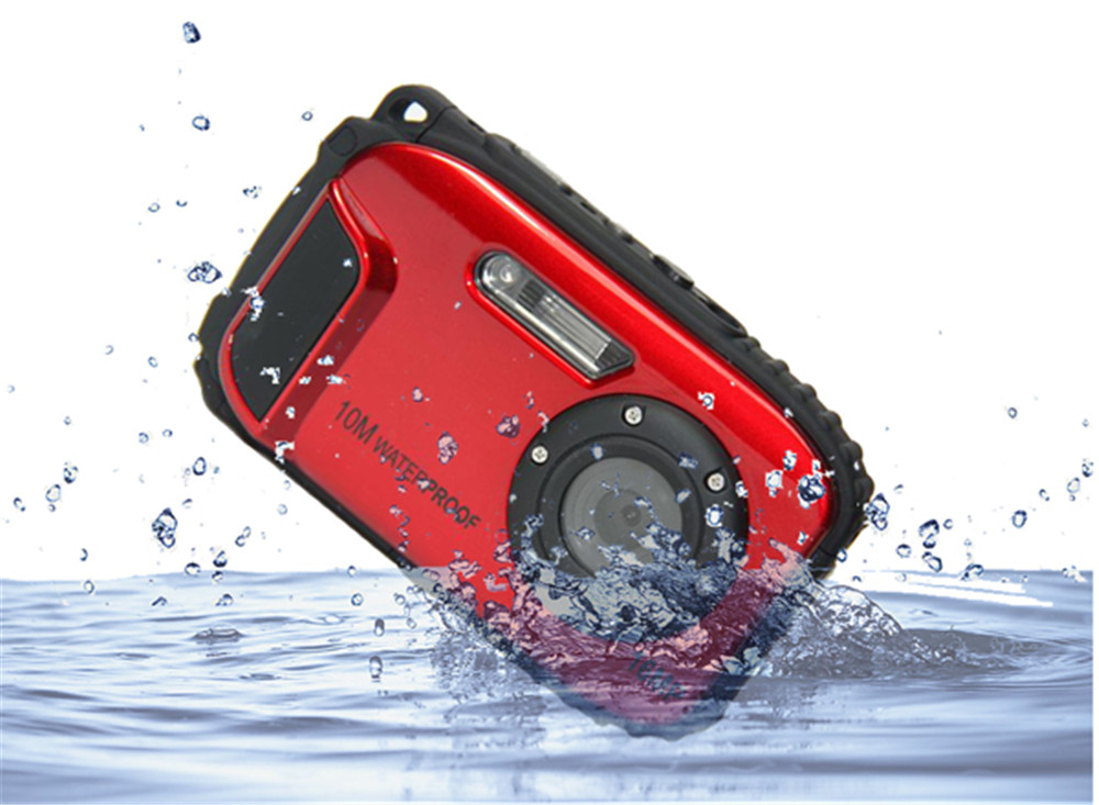 factory hot sales waterproof sports digital camera With Long-term Technical Support