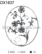 Wrought Iron Ornaments&Wrought Iron Rosette Ornaments Designs