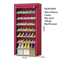 Modern Waterproof Fabric Closed Cheap Amazing Shoe Rack Wholesale