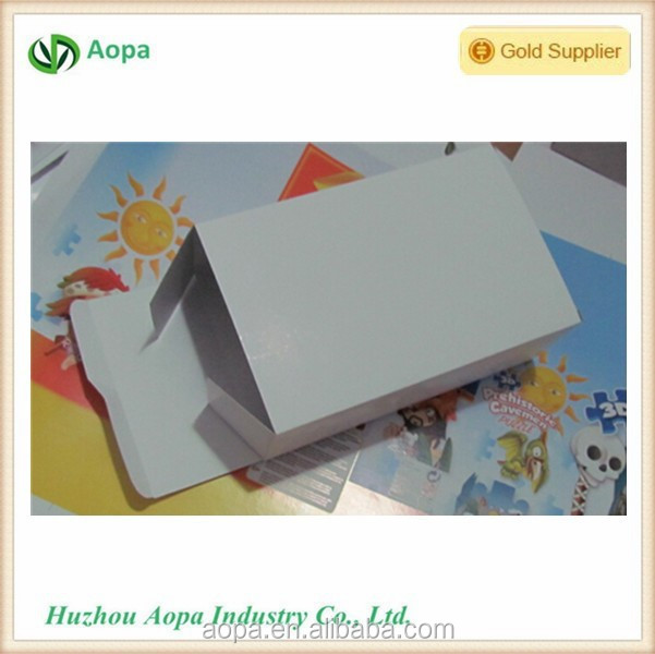 s461 Special for putting little gift customized print and Logo folded box