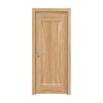 Contemporary Home Insulated Front Door Wood Rain Protection Wooden Doors For Rooms