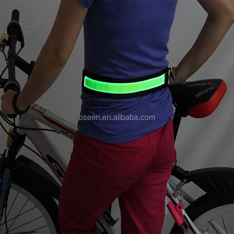 Green flashing USB charging LED light up horse riding
