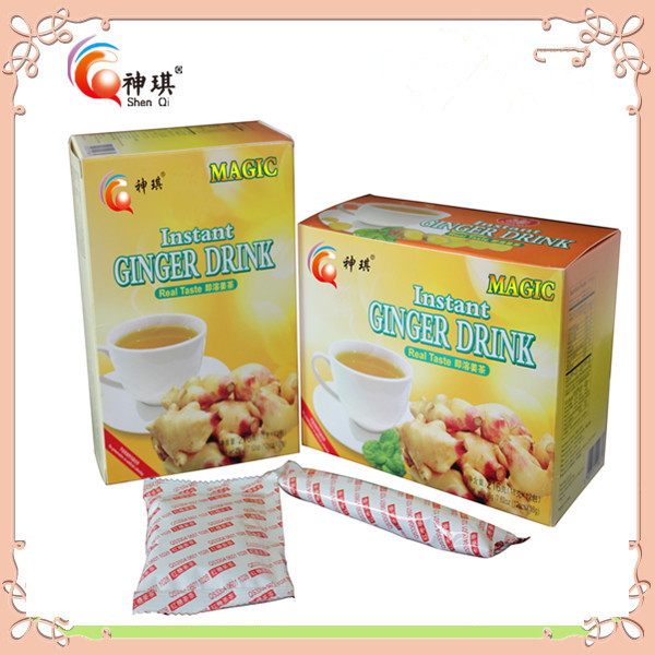 FDA quality Flavored Tea , natural <strong>health</strong> instant honey ginger root tea powder of ginger drink