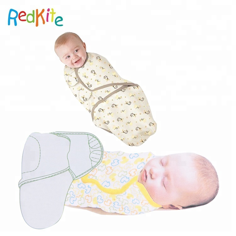 OEM New pattern Soft baby wrap 100 cotton baby swaddle blanket, Picture color;customized color