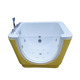 Baby massage bathtub Functional indoor square BB whirlpool spa Tub