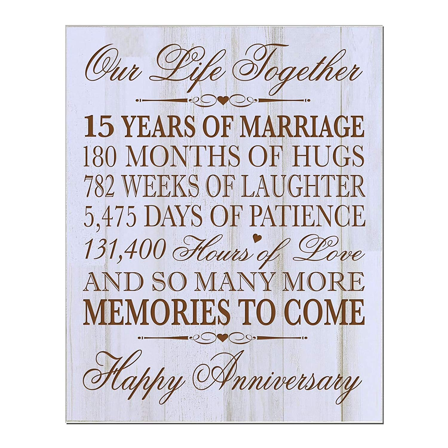 15th Wedding Anniversary Gifts For Him: Buy 15th Wedding Anniversary Gift For Couple,15th