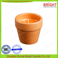 scented candles at