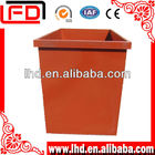 industrial steel Metal Waste Container with lid