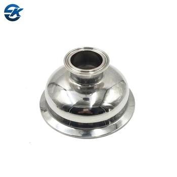 Sanitary Stainless Steel Bowl Cap Tri Clamp Concentric Reducer Pipe  Fittings - Buy Bowl Reducer,Bowl Cap Concentric Reducer,Bowl Cap Tri Clamp