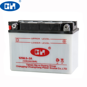 China Battery Manufacturer Good Starrting 12N6.5-3A Motorcycle Battery