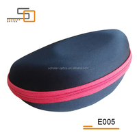 Black cheap EVA sunglasses case for sports
