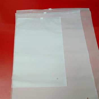 100% biodegradable custom plastic zipper bag packaging bags PVC bag for clothing/food