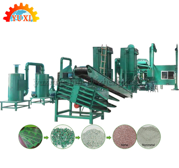 Scrap Waste PCB Metal Separation Recycling E Waste Plant Manufacturer