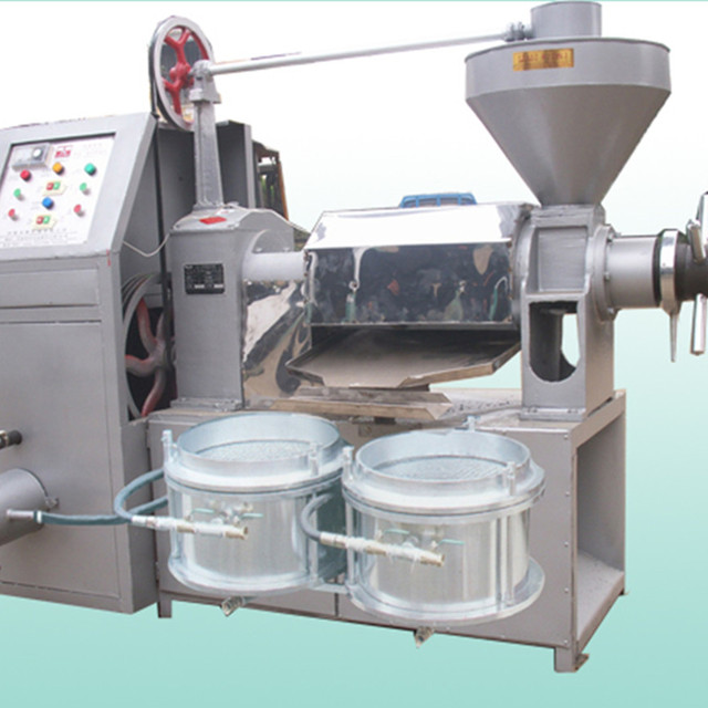 2018 High Capacity Cold &Hot Combined Screw Oil Press Machine