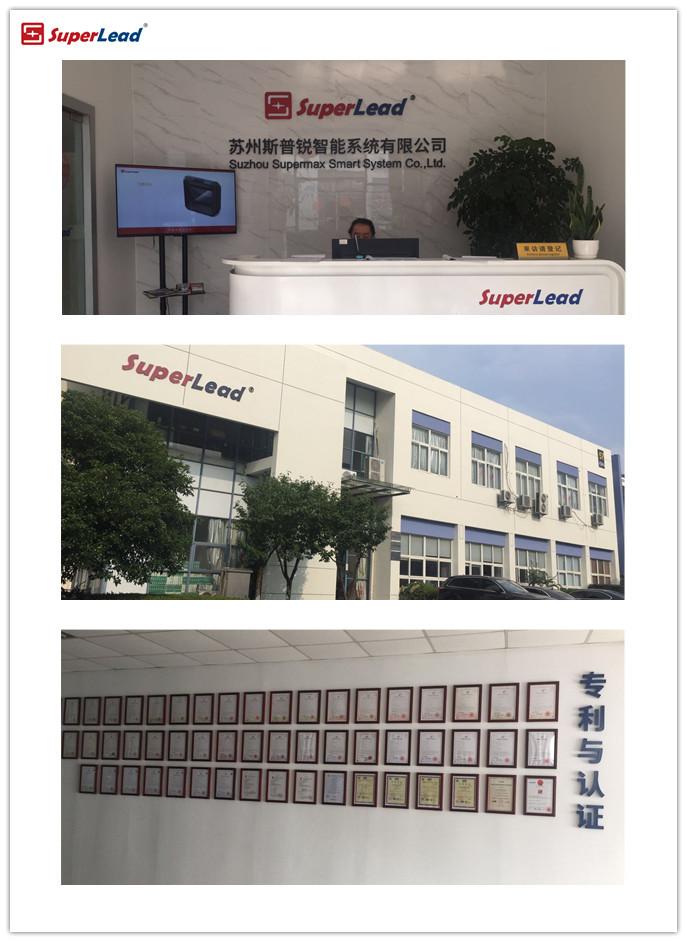 SuperLead 7201desktop 1D 2D omidirectional barcode scanner de código de barras de digitalização para o supermercado e loja de varejo