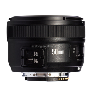 yongnuo 50mm F1 8 lens for nikon DSLR camera yongnuo large aperture auto  focus lens for Nikon AF-S 50mm 1 8g