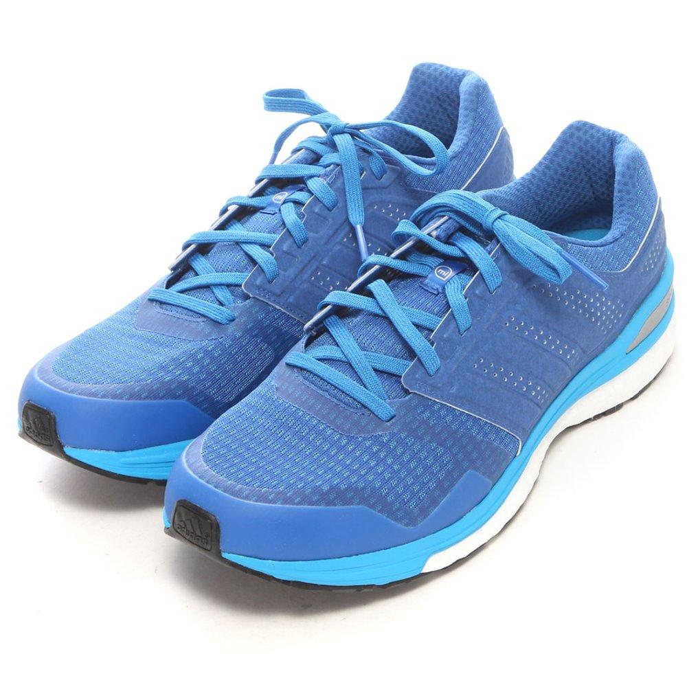 online store 4752e 48d6a Adidas B34589 Men s Supernova Sequence Boost 8 Reflective Running Shoe blue  solar