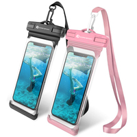 2018 Hot New Products Waterproof cellphone bag for Outdoor Camping Floating Waterproof phone case