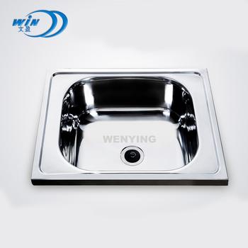 Outdoor Rectangular Kitchen Basin Sink Oval Undermount Clips Cast Iron