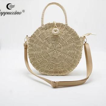 c820be64acc5 Гуанчжоу мешок оптовая продажа с фабрики соломенные сумки Бали соломенная  сумка