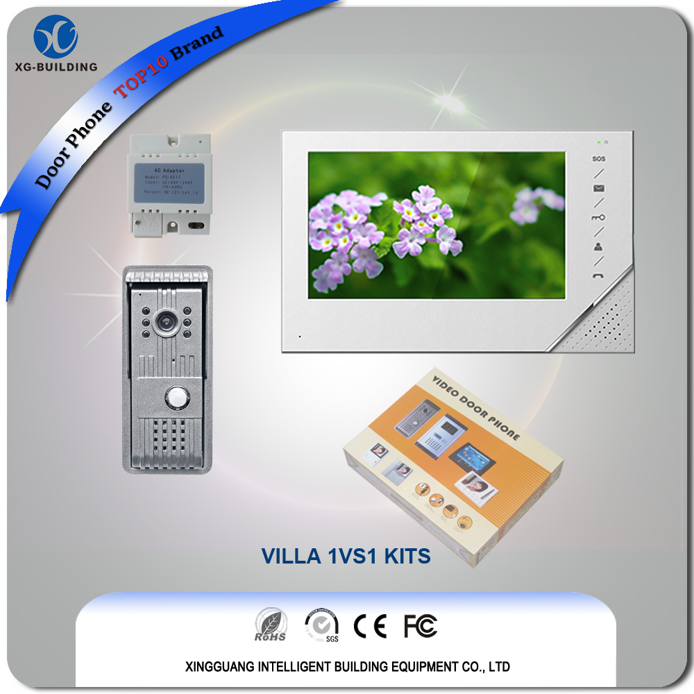 Video Intercom with Metal Door Station