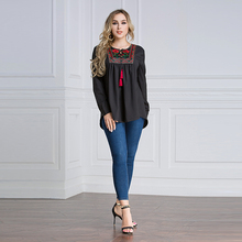islamic clothing ethnic style women long sleeve tunic