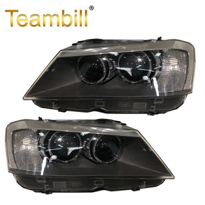Car headlights for B.M.W x3 f25 parts xenon headlight 2013 year 63117276991 & 63117276992