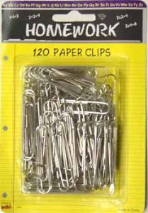 """Paper Clips - Silver - 2"""" - 120 Count [48 Pieces] - Product Description - Paper Clips - Silver Metal - 2"""" Length - 120 Count, Very Good Quality. ..."""