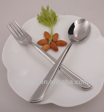 High quanlity hotel cutlery set stainless steel silver ware