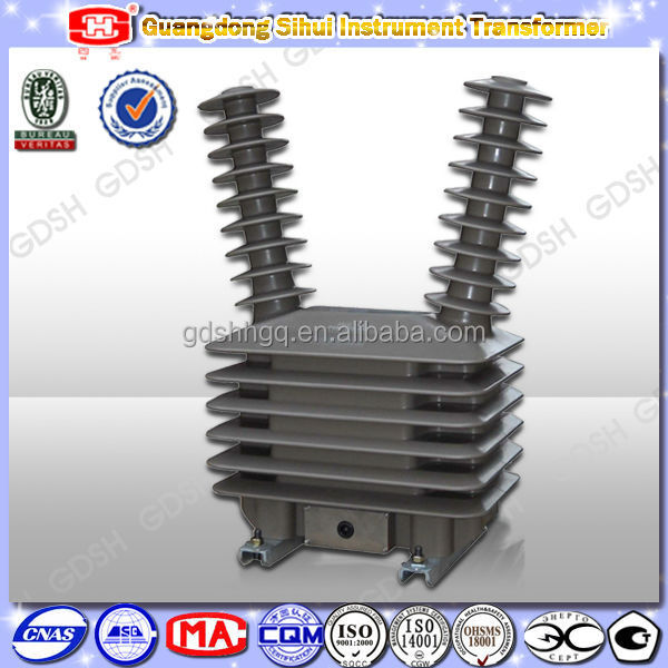 IEC Standard 35kV Outdoor Electrical Voltage Transformer Specification