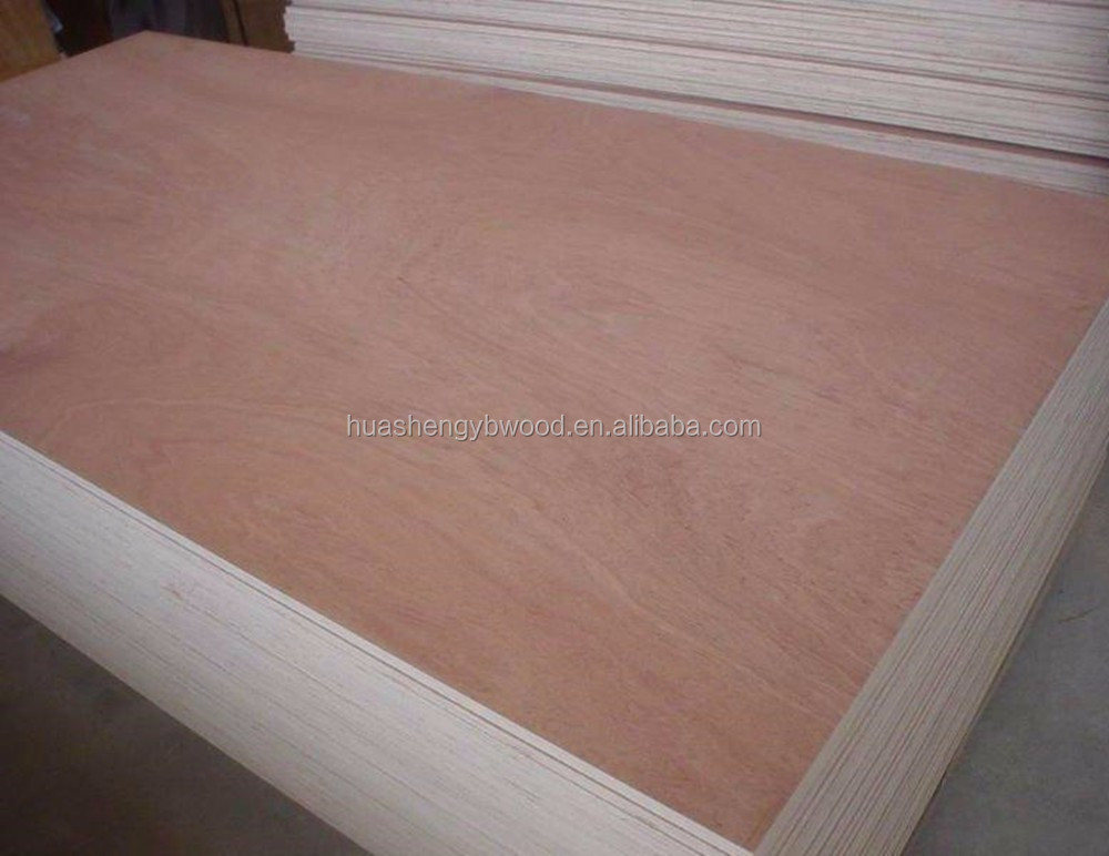 Furniture grade red color veneer plywood