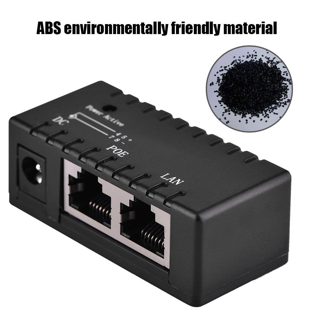 Cheap Network Power Injector Find Deals On Midspan And A Powered Device Looks Something Like This Get Quotations Fosa Poe Splitter Over Ethernet Adapter For Lan Networkblack