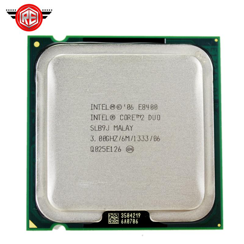 Aliexpress.com : Buy Intel Core 2 Duo E8400 Processor Dual Core 3.0Ghz FSB1333MHz Socket 775 CPU ...