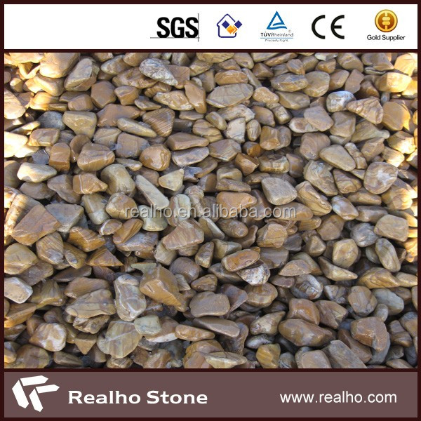 natural pulido jardn de rocas y piedras pequeas piedras de ro para