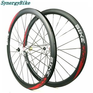 38MM Bicycle Wheels Used Carbon Wheelset Novatec771 Road Disc Brake Carbon Bike Wheels